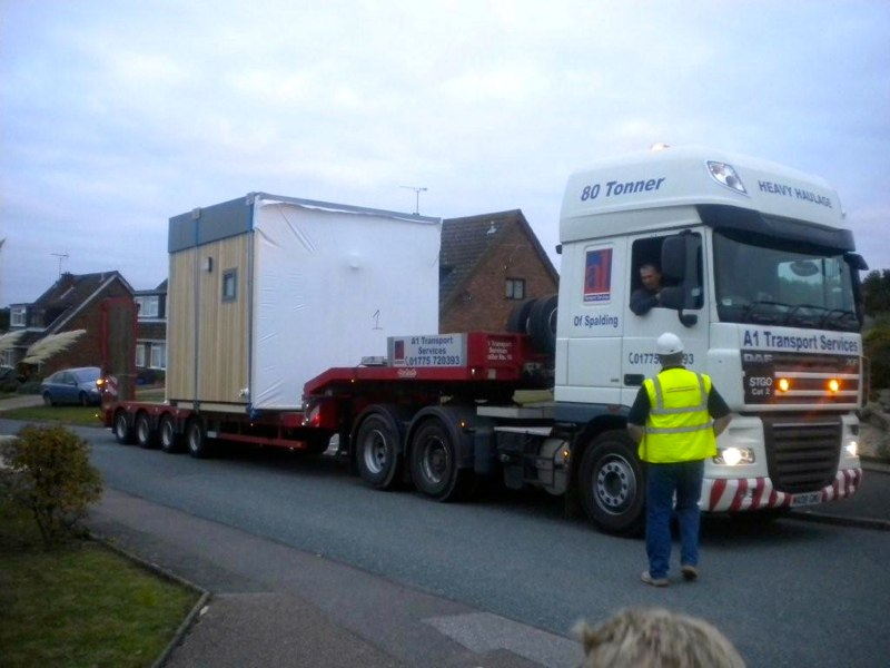 Building on Lorry